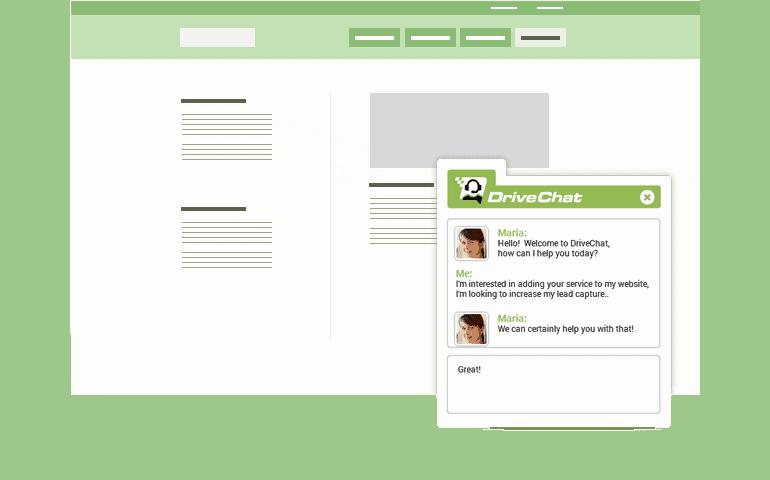 Drive Chat widget