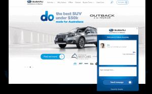 Drive Chat Subaru widget